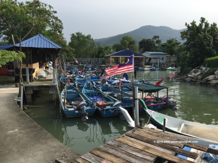 Penang attractions on sightseeing tour