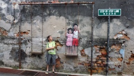 Penang attractions on Penang street arts
