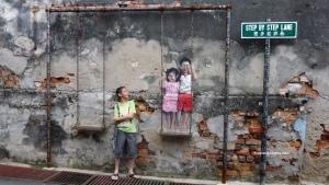 Penang attractions on Penang street arts