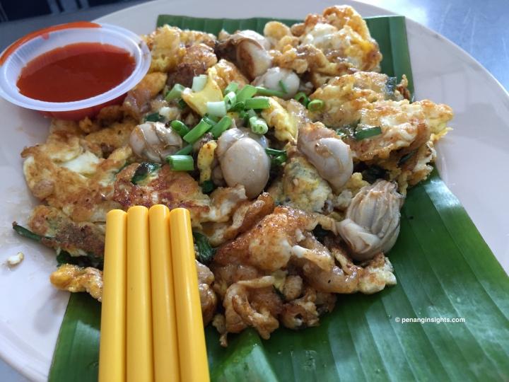 Penang attractions on Penang street food at random