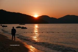 Penang attractions on Penang sunsets