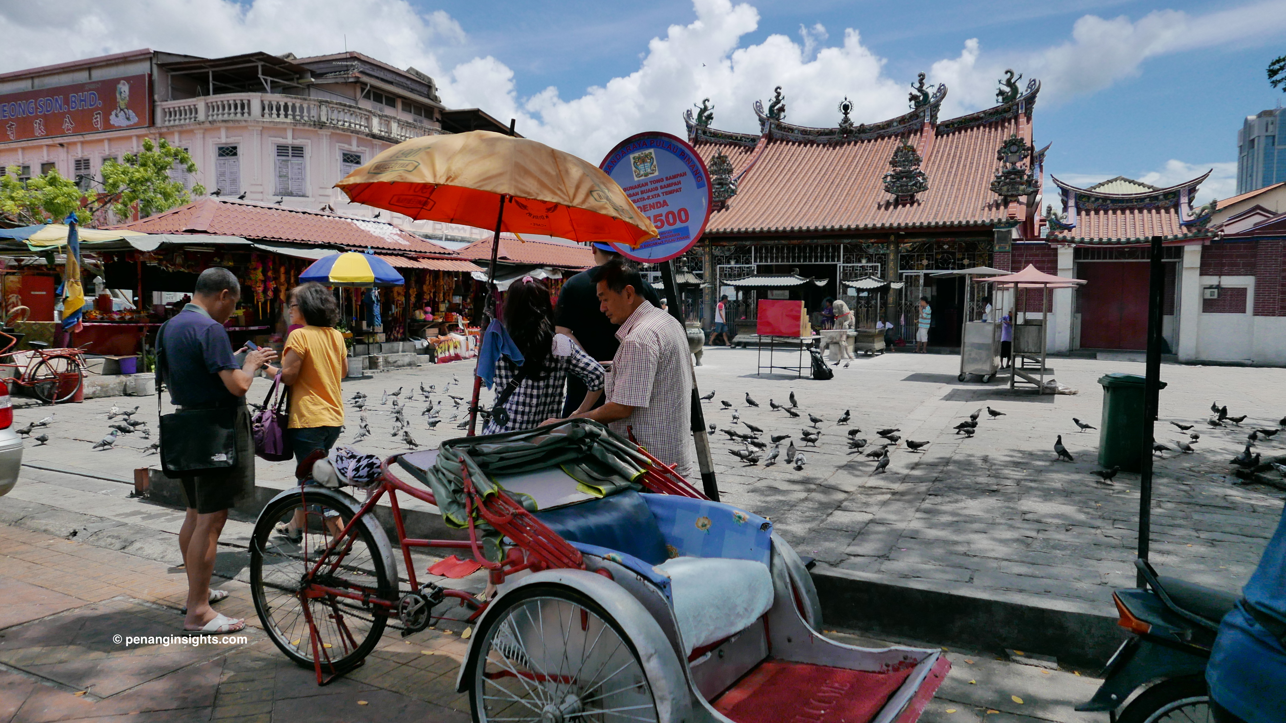Penang attractions on Penang heritage