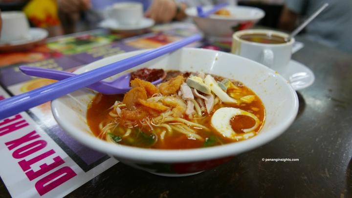 Penang attractions on Penang street food