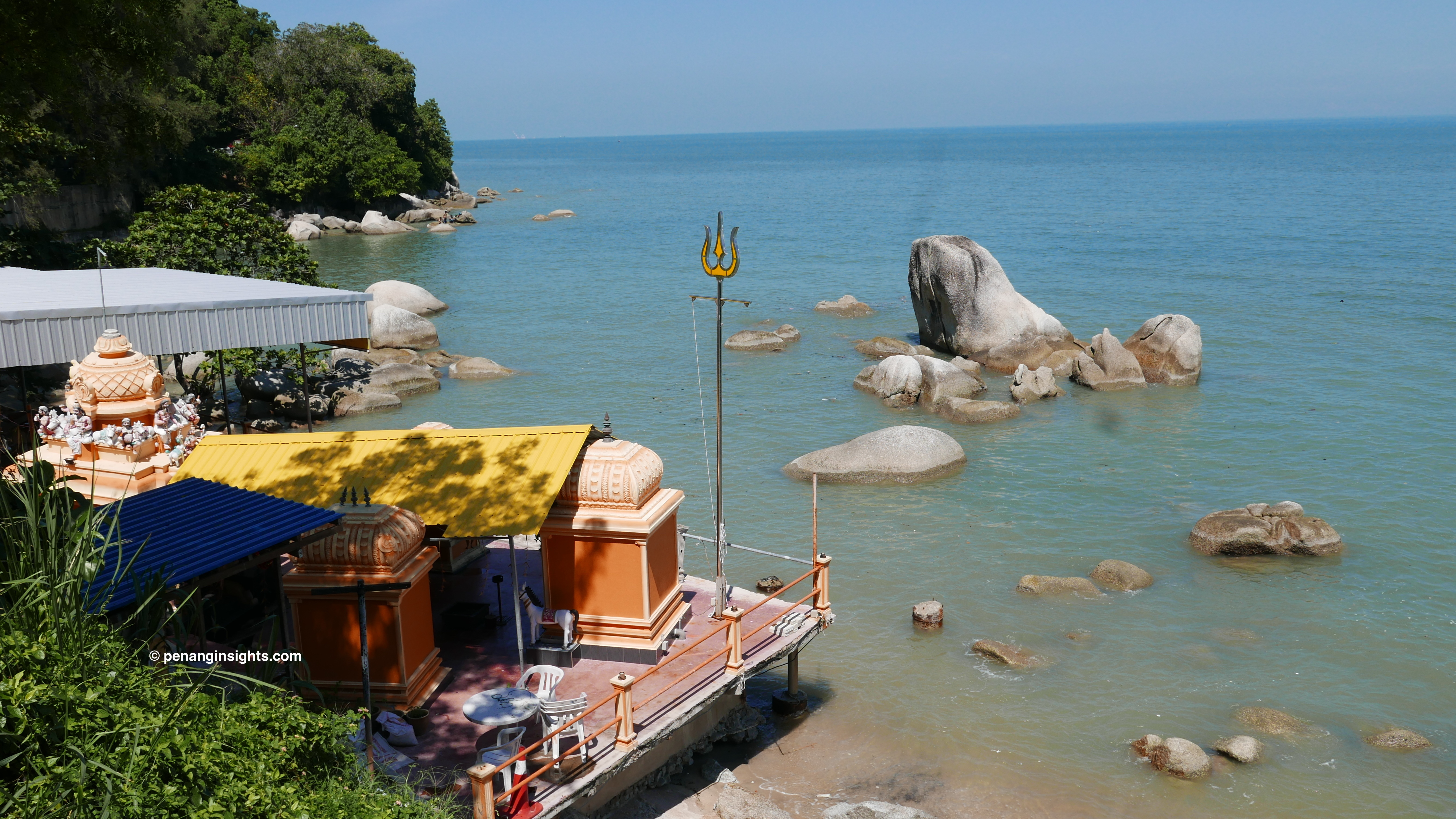 Penang attractions on sightseeing tours