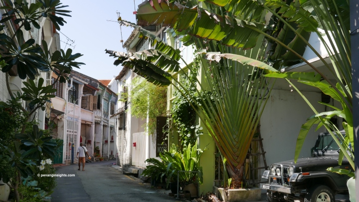 Penang attractions on Penang streetscapes