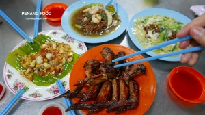 Penang attractions on Penang food
