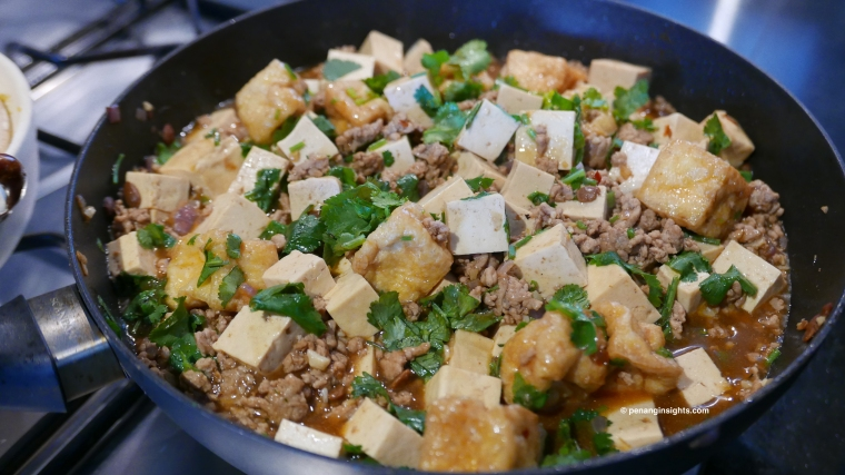 Minced pork and Tofu recipe by Penang Insights