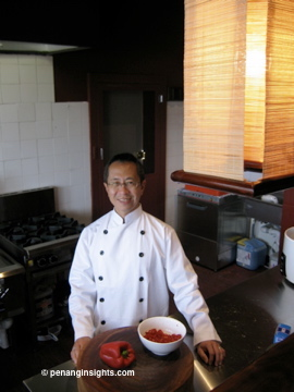 Cooking class with Victor Khoo