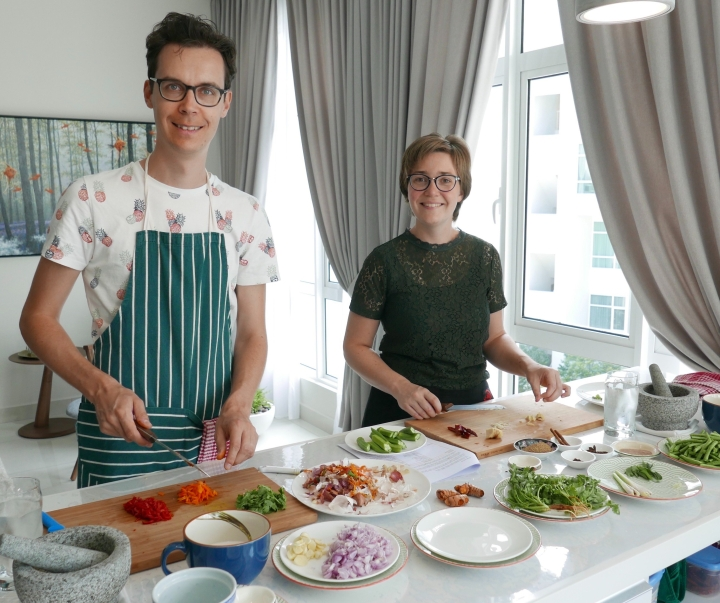 Cooking class with Penang Insights