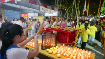 A Taoist Chinese tradition and culture - the Nine Emperor Gods Festival in Penang