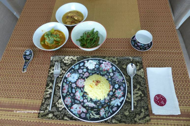 Meal cooked by Holland guests