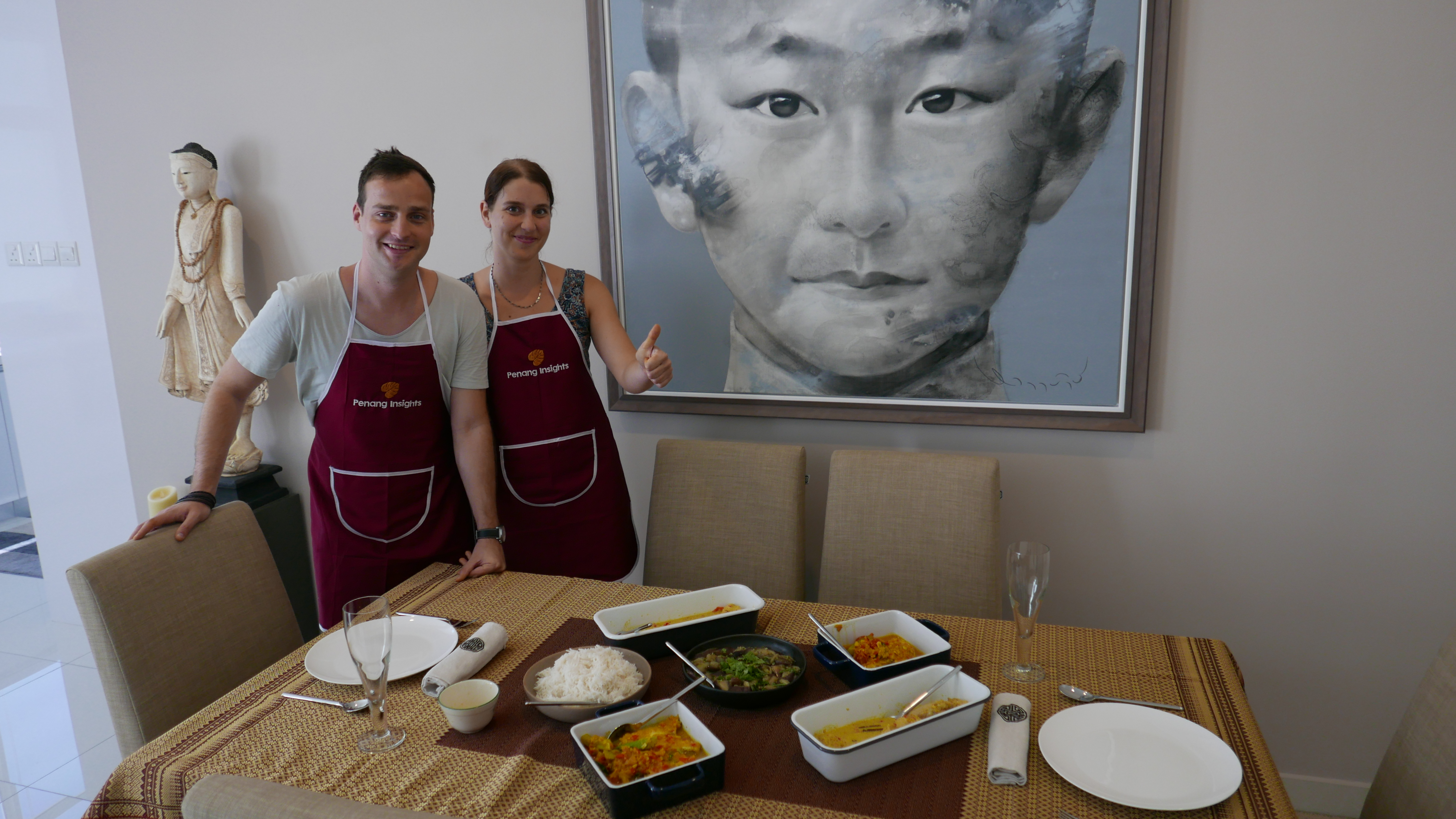 Cooking class with our Czech Republic guests