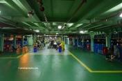 Penang ferry upper deck for passengers